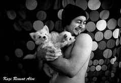 Sumon & his puppies (Kazi Riasat Alve) Tags: dog puppies aman sumon shukro