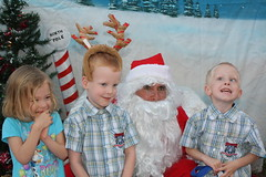 IMG_2959 (drjeeeol) Tags: santa animal katie charlie will triplets toddlers 2012 refuge backtonature 50monthsold