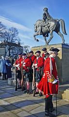 Remembering 1745 (Dun.can) Tags: statue scotland derbyshire battle stuart soldiers reenactment derby redcoats scots culloden 1745 jacobite bonnieprincecharlie charlesedwardstuart jacobiterebellion fullstreet charlesedwardstuartsociety