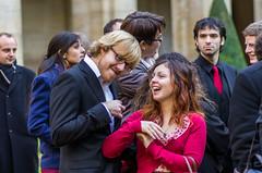 Mariage Xavier et Elise (Gaetan Zarforoushan) Tags: france pentax elise sigma normandie xavier mariage tamron 90mm calvados caen 2012 k5 30mm