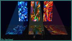 Vitraux de lumire (1) (Tim Deschanel) Tags: life color art landscape tim paradise gallery colours magic hell galerie boom sl exposition second paysage exploration couleur gem paradis deschanel enfer kelty aneli keltyana preiz