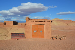 Deserto (Luca Terracciano) Tags: sky sahara clouds desert ben morocco aid marocco ouarzazate ksar deserto ksour aitbenhaddou atbenhaddou haddou