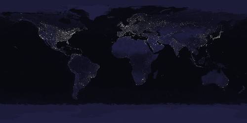 nasa goddard bluemarble earthatnight earthcitylights