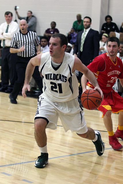 Junior transfer Dusan Kojic scored a season's best 20 points on Tuesday night against Chestnut Hill