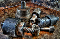 Punches (arbyreed) Tags: vintage rust machine rusty tools oxidize hdr punches oldtools arbyreed metalpunches chassispunches sheetmetalpunches