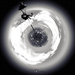 Iya's Planet [EDIT] (Benji P. Photo) Tags: paris foot football small planet iya traore iyatraore