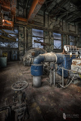 Up Valve Down Pipe (billmclaugh) Tags: mill abandoned industry photoshop canon rust iron industrial steel urbanexploration furnace hdr highdynamicrange blaster ue molten lightroom urbex 1635mm photomatix viveza weirtonsteel promotecontrol 5dmiii