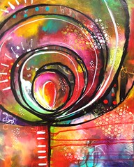 12 (belindafireman) Tags: painting rainbow colorful acrylic bright bold artbattle