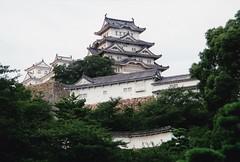 Himeji-Jo (Mr.  Mark) Tags: japan wall architecture japanese whitecrane shirasagi casrle markboucher