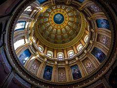 View inside the capitol dome (Chris (Midland05)) Tags: mi unitedstates michigan lansing capitoldome dmcfz35 p1090326