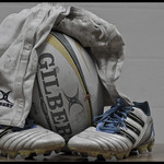 Gilbert Rugby Ball & Shorts thumbnail
