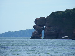 Dawlish 2010 (creepingaroundhere) Tags: sea sky holiday water coast cliffs devon 2010 dawlish