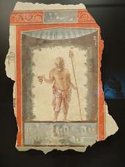 Getty Villa '16 (faun070) Tags: thegettyvilla fresco satyr faun greekromanmythology