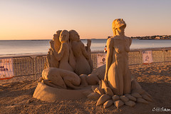 SSS_0181 (Sam 8899) Tags: sand sculpture beach sunrise morning light sky sea color