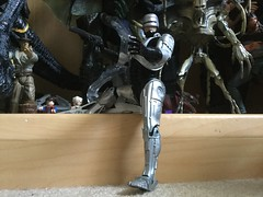 Future Of Law Enforcement (splinky9000) Tags: kingston ontario toys action figures neca robocop 1987 movie peter detroit city police department paul verhoeven weller alex murphy cyborg robot cop