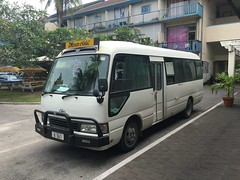 The bus that drove around and around Nauru.