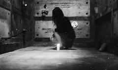 (Victoria Yarlikova) Tags: monochrome iso100 analog zenit film grain pellicola scan cemetery moody dark 35mm darkroom smallformat expired traditionalphotography helios cimitero self candle mysterious misteriosa old vintage retro