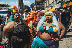 Mermaids (mathiaswasik) Tags: coneyisland mermaidparade nyc newyork people carnival festival colorful women city street