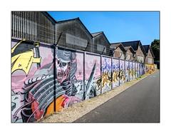Sur les murs (SiouXie's) Tags: couleur color fujix20 fujifilm fuji siouxies rouen normandie normandy ville city quai dock graffiti tags arturbain urbanart urban urbain