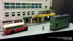 1:150 Scale Diorama | Capitol Theatre & Ying Kong Mansion, Causeway Bay , Old Hong Kong, Late 1950s  & , , 1950  /  /  (AC Studio) Tags: 1150 n gauge scale model capitol theatre hong kong hongkong miniature scratchbuilt scratch scenery diorama causeway bay cwb ying mansion  old late 1950s    50      yee wo street    jardines bazaar  building architecture
