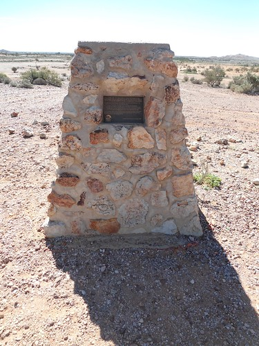 Monument Marking the Discovery Of Opals
