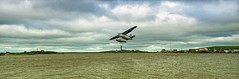 AAB_2131s (savillent) Tags: tuktoyaktuk northwest territories canada arctic north harbour ocean beaufort sea clouds weather travel aviation floatplane cessna landscape summer july 2016