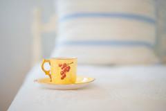 New Teacup HBW! (jm atkinson) Tags: purple bokeh wednesday tea cup yellow