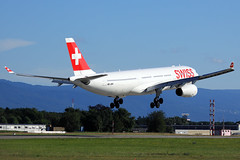 Swiss  Airbus A330-343E HB-JHH (widebodies) Tags: genf geneva gva lsgg widebody widebodies plane aircraft flughafen airport flugzeug flugzeugbilder swiss airbus a330343e hbjhh
