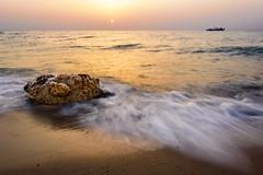 """Be the change to influence the surroundings"" (faisy5c) Tags: outdoor ocean water sea wave seacape shore landscape rock beautiful colours nikon d7100 nikond7100 nikonafs18105mmvr faisy5c 5ccha"