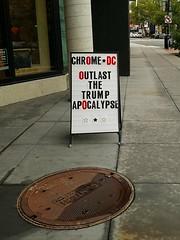 apocalypse (pinelife) Tags: sign shaw apocalypse trump dc