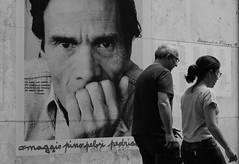 Via di Donna Olimpia, Roma (AlexBlues) Tags: roma rome monochrome monteverde pasolini street planar1750 fujifilmxe1