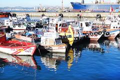 Puerto de Valparaiso / Chile (Leon Calquin) Tags: leon calquin fotos leoncalquin photos videos santiago chile flickr quincal diseo catalog catalogo senderismo hiking travel viajes puerto valparaiso mar sea