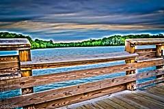 Oak Hollow Lake. High Point, NC (SRHill74) Tags: lake pier hdr highpoint northcarolina
