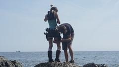 Shooting Lara Croft - Calanque du Mont Salva - Six Fours les Plages - 2016-08-11- P1500408 (styeb) Tags: shoot shooting lara croft 2016 aout 11 calanque mont salva sixfourslesplages t
