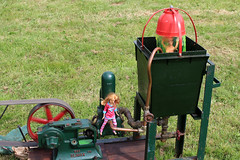 Sindy in the shower (Tag1066) Tags: sindy shower naked stationaryengine pump girls yeovilshowground climax