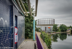 Canal walk-3.jpg (Colin Dorey) Tags: sainsbury gasholder westway london westbournepark canal paddingtonbranch architecture ladbrokegrove kensalroad kensaltown