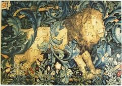 The Lion (Leonisha) Tags: puzzle jigsawpuzzle lion lwe painting