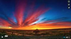 Palouse Sunset Timelapse (thecreativeshutter) Tags: clouds movie palouse sunset timelapse travel video washington