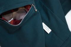 Jacket Arm Opening Detail. www.ordermateria.com (OrderMateria) Tags: menswear mensfashion mensstyle lining design detail order materia ordermateria zip zipped fashion fashiondesign fabric