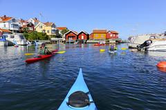 Grundsund (Anders Sellin) Tags: sverige sweden västkusten sea ocean water vatten watersport sport kajak kayaking orust autumn höst 2016 rökeri friends grundsund westcoast