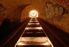 Lightpaing, Fort Vieux-Lyon (dim.garcia) Tags: fort vieuxlyon souterrain lyon rhonealpes rhone lightpainting light lumire tag