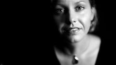 Andrea... (lichtflow.de) Tags: canon eos5dmarkiii ef50mmf14 festbrennweite portrt portrait gesicht face sw bw schwarzweis woman frau mensch human