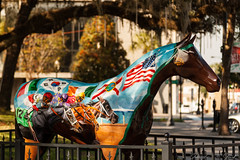 World Champ (11-04-12) (skippys1229) Tags: horse statue canon rebel downtown ocala horsefever marioncounty horsestatue ocalafl ocalaflorida downtownsquare downtownocala marioncountyfl rebelt1i t1i canonrebelt1i