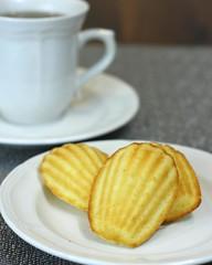 Lemon Madeleines (MatthwJ) Tags: cookies cake baking lemon homemade madeleines cookbook2 baking2012