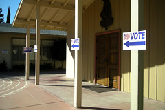 Follow the signs (GerryL) Tags: california sanjose electionday gerryl nikoncoolpixl12