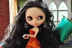 Conversa - 2379 - (MUSSE2009) Tags: toys doll mohair blythe arabian custom zade árabe scheherazade lilitix