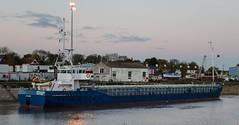 Jongleur (Mark Hobbs@Chepstow) Tags: wales docks boat nikon marine flickr ship crane ships riversevern tug dslr chepstow bulkcarrier jongleur sharpness monmouthshire lydney sharpnessdocks shipspilot markhobbs dreadger evamariamuller nikond7000