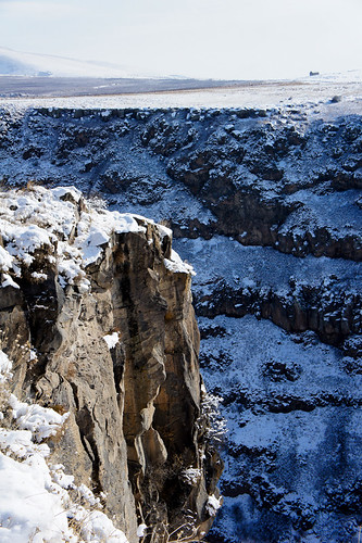 Gorge under Saghmosavank monastery