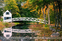 Somesville Bridge - Acadia N.P - Maine (~ Floydian ~ ) Tags: bridge autumn trees usa sunlight color colour reflection tree fall nature water colors leaves creek canon reflections season landscape leaf nationalpark pond colorful warm mood colours village unitedstates peaceful tranquility atmosphere serene colourful charming tranquil meijer henk warmlight mountdesertisland desertisland somesville acadianp somes gracefularch floydian proframe proframephotography transgressing canoneos1dsmarkiii henkmeijer somescreek