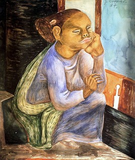 Soriano, Juan (1920-2006) - 1937 Lady in the Window (Private Collection)